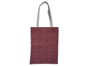 Červená textilná taška