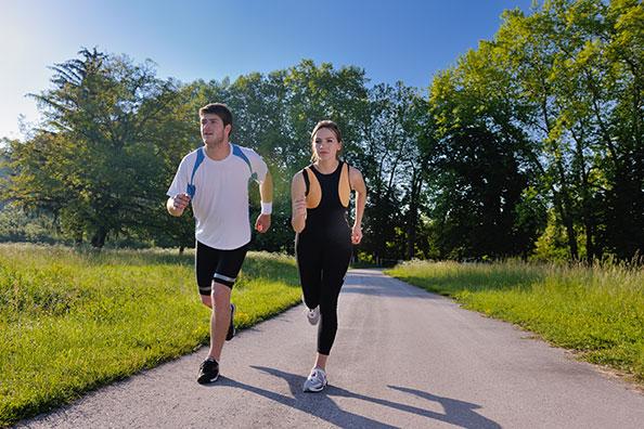 Zásady běhání ve vedru