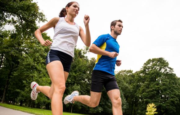 Jak běhat s rychlejším parťákem