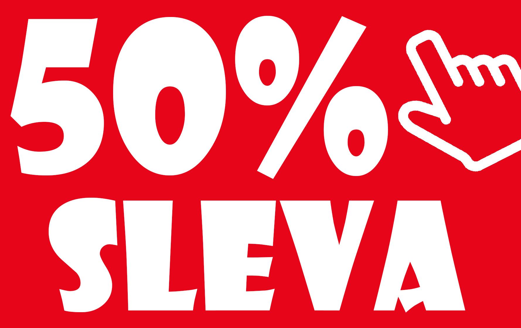 50% SLEVA