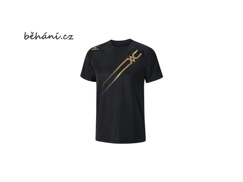 Běžecké tričko Mizuno Drylite Tee K2GA5A1509 (Velikost textilu XXL)
