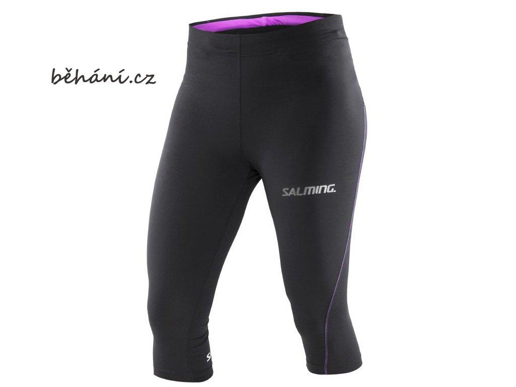 3/4 běžecké kalhoty Salming Run Tights (Velikost textilu XS)