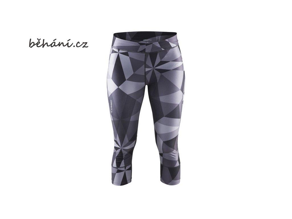 Běžecké kalhoty CRAFT Devotion Capri (Velikost textilu XS)