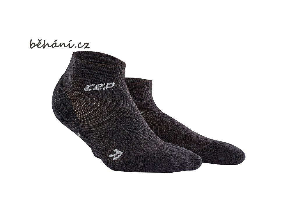 CEP dámské outdoorové kompresní kotníkové ponožky ULTRALIGHT MERINO - lava stone (Velikost IV (23,5 - 26 cm obvod kotníku))