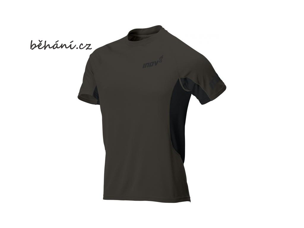 Běžecké tričko INOV-8 BASE ELITE SSZ black (Velikost textilu XXL)
