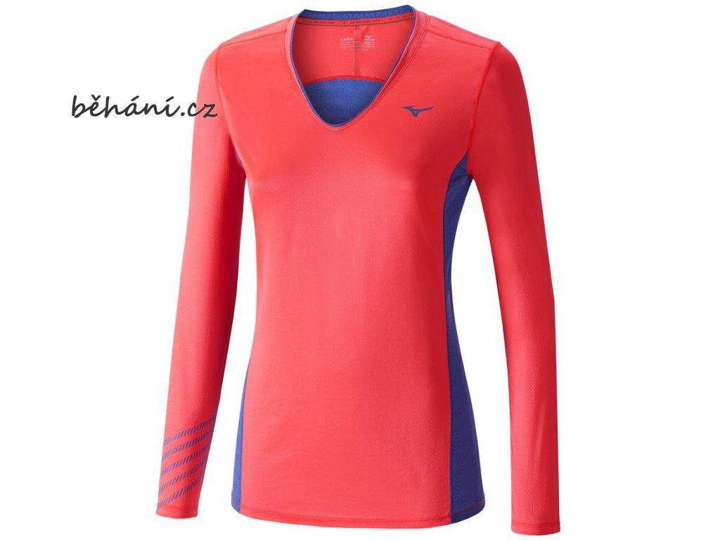 Běžecké tričko Mizuno Premium Aero LS Tee J2GA670264