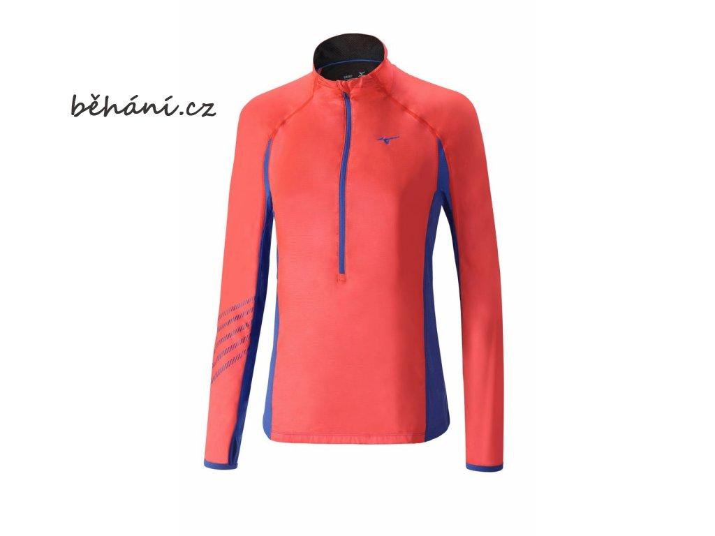 Běžecká mikina Mizuno Breath Thermo Premium Windtop J2GC672064 (Velikost textilu XXL)