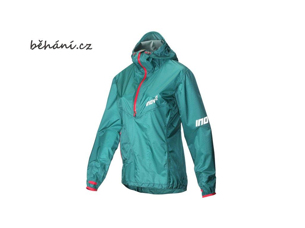 Běžecká bunda INOV-8 AT/C STORMSHELL HZ teal/pink (Velikost textilu XL)