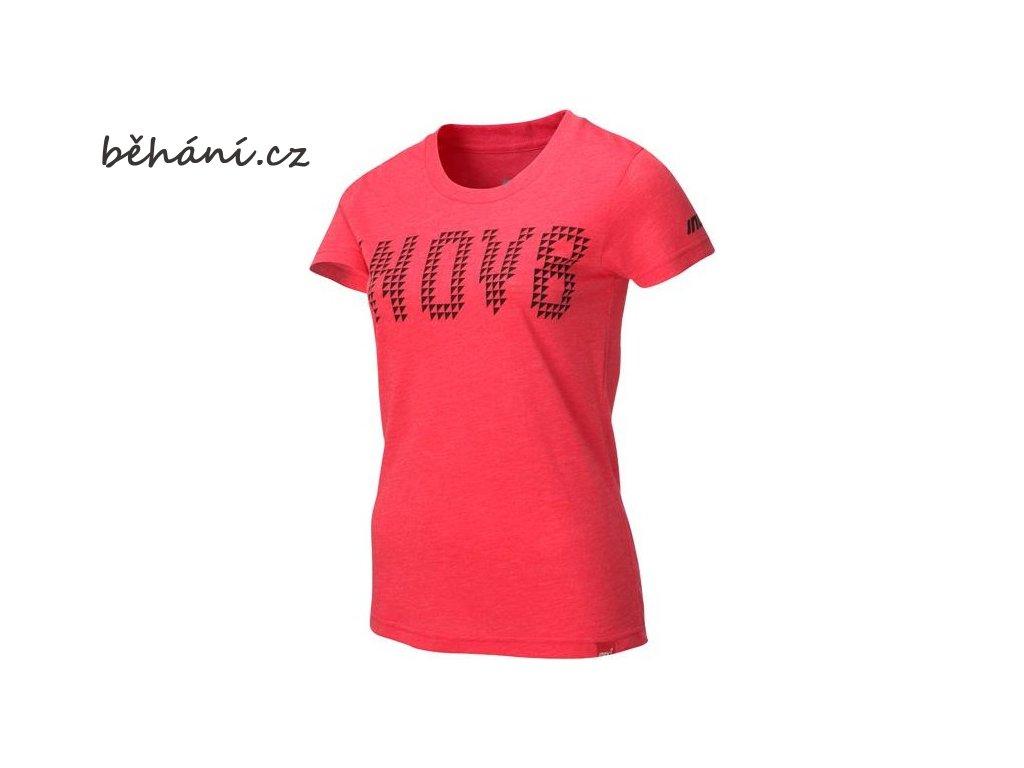 Běžecké tričko INOV-8 TriBLEND Tee barberry