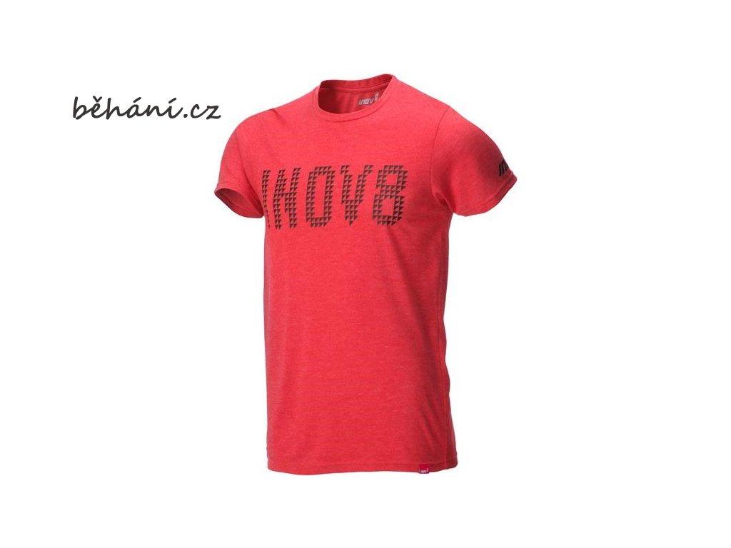 Běžecké tričko INOV-8 TriBLEND Tee red