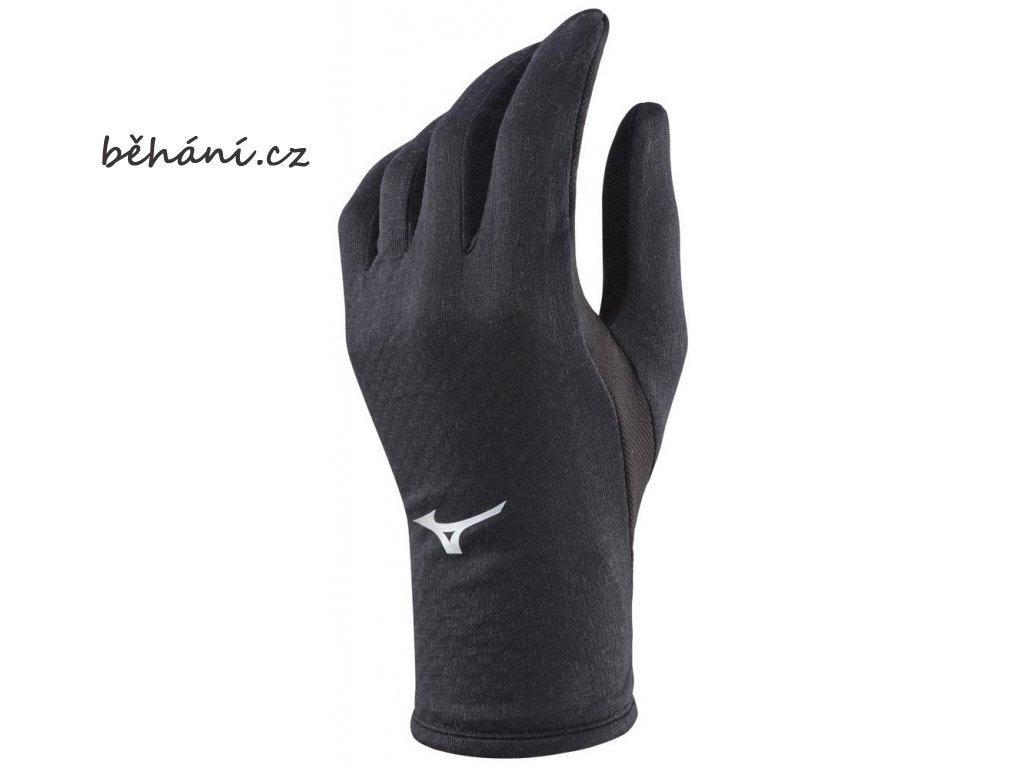 Běžecké rukavice Mizuno Running BT Glove 67BK265C09 (Velikost textilu S)