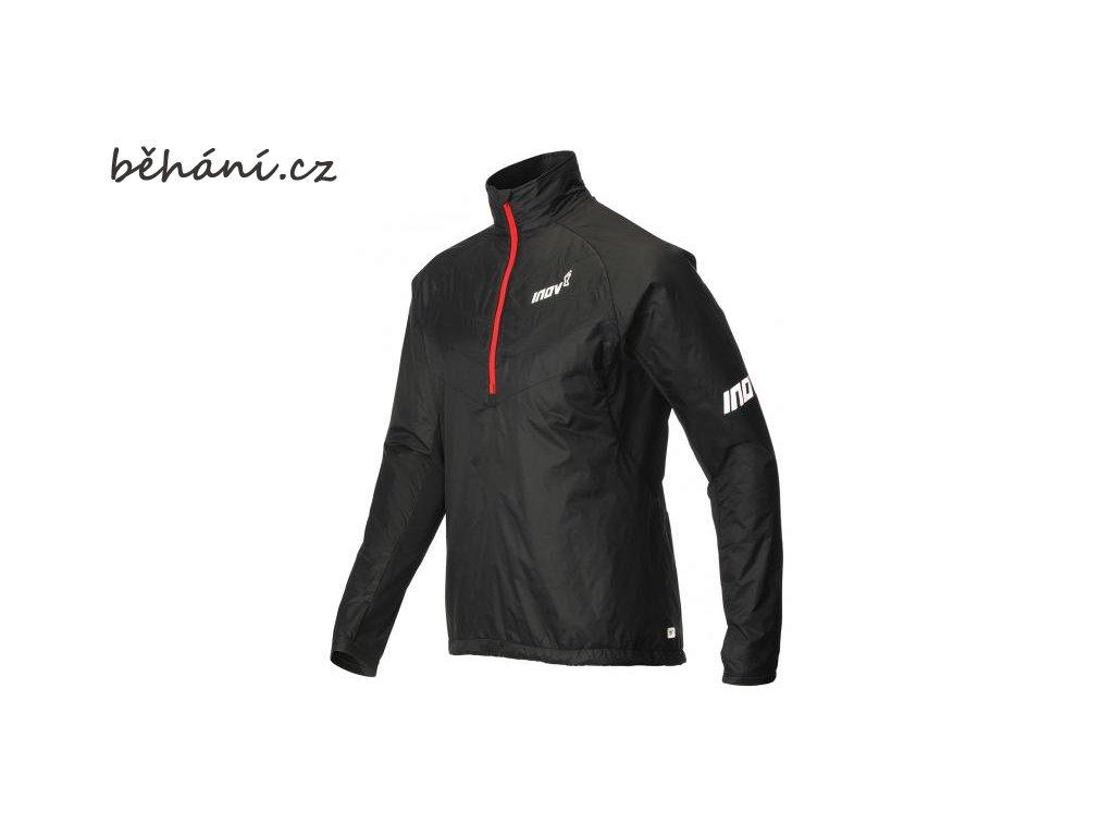 Běžecká bunda INOV-8 AT/C THERMOSHELL HZ black/red (Velikost textilu XL)