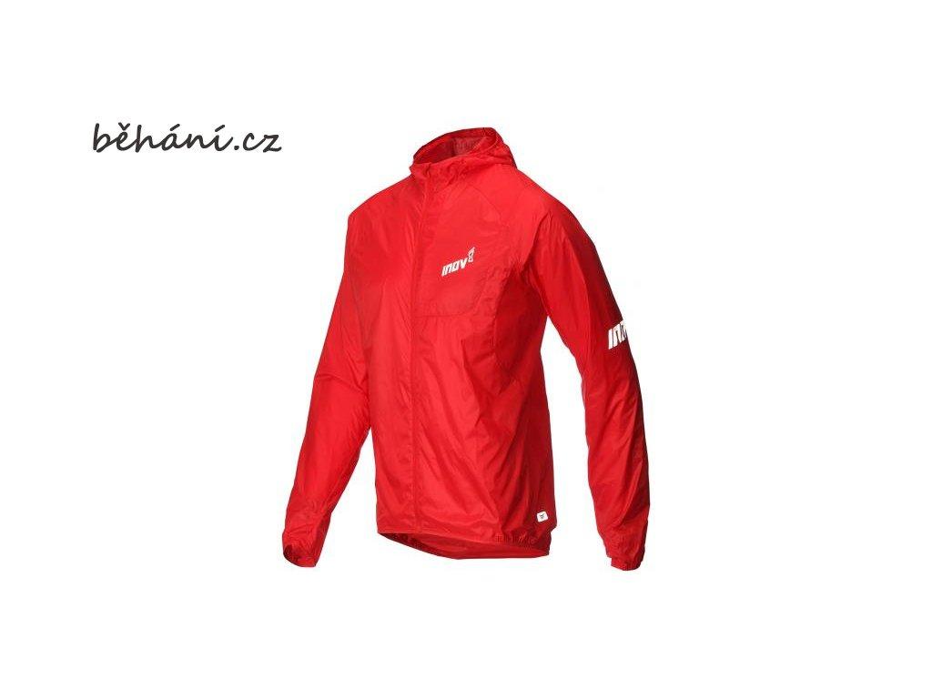 Běžecká bunda INOV-8 AT/C WINDSHELL FZ red (Velikost textilu XL)