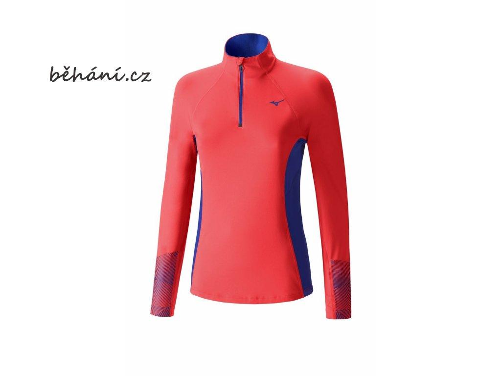 Běžecká mikina Mizuno WarmaLite Phenix Top J2GC670464 (Velikost textilu XXL)