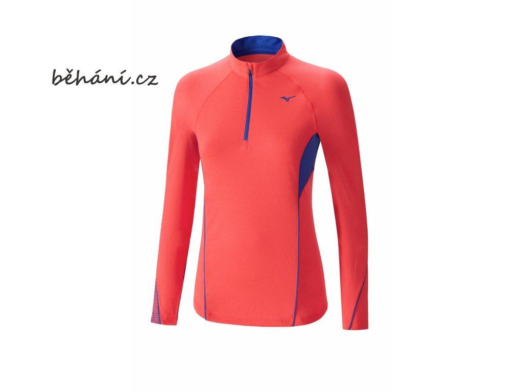 Běžecká mikina Mizuno WarmaLite Phenix HZ J2GA672764 (Velikost textilu XXL)