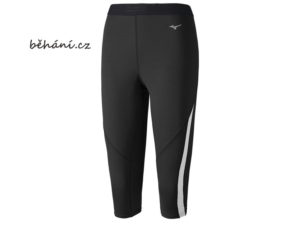 3/4 běžecké kalhoty Mizuno Virtual Body G1 Tight A2GB476290 (Velikost textilu XL)