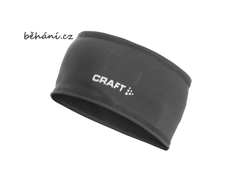 Běžecká čelenka CRAFT Thermal (Velikost textilu S/M)
