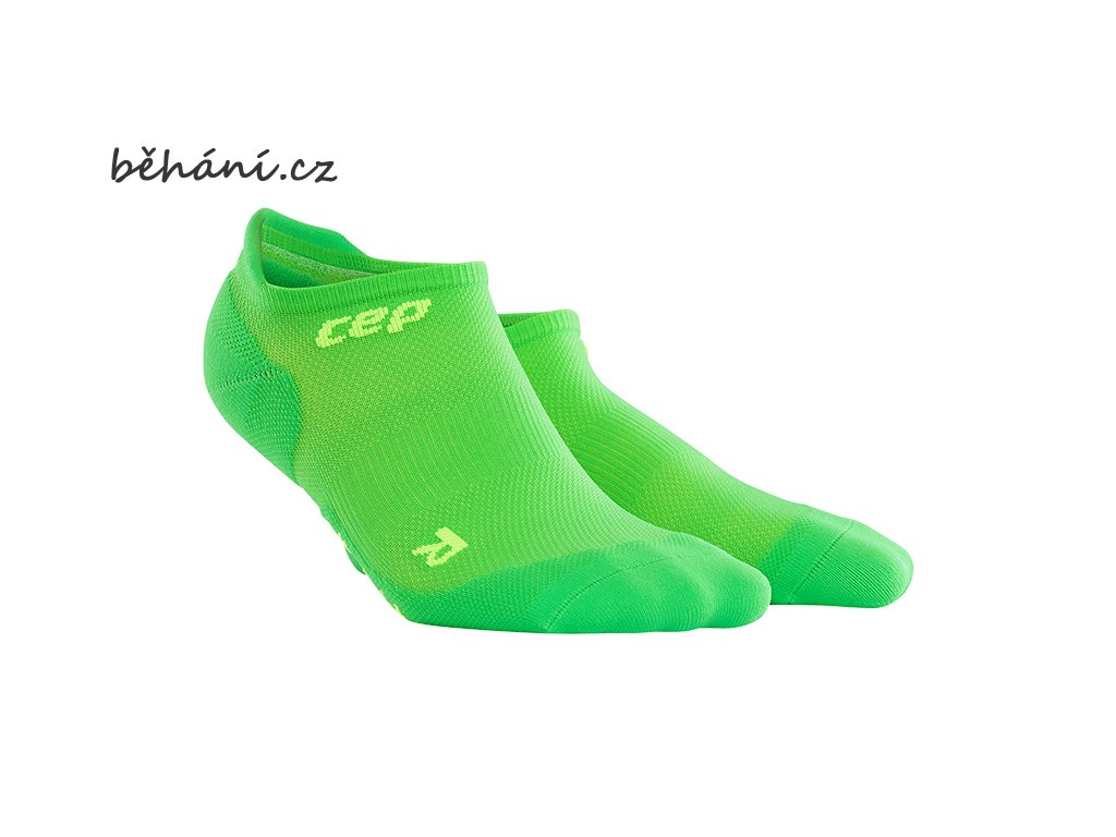 ultralight no show socks viper green WP46G pair