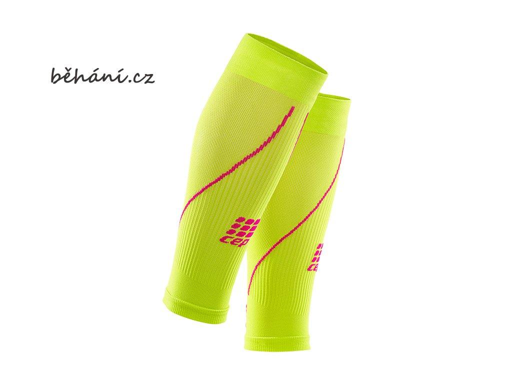 calf sleeves 2.0 lime pink w WS4570 pair