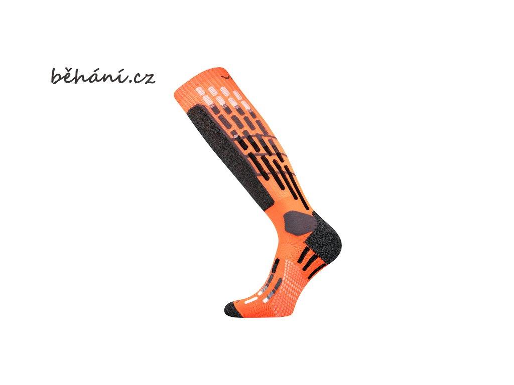 Běžecké kompresní podkolenky Boma VXPRES - oranžové (Velikost textilu 43-46)