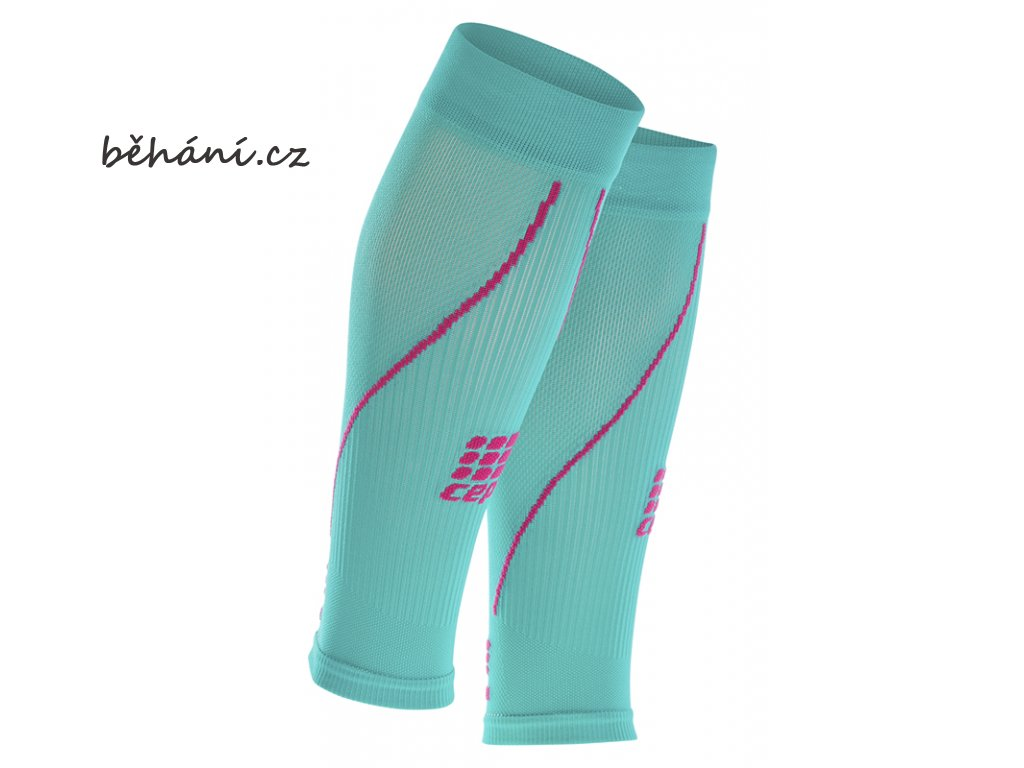CEP calf sleeve 2 0 lagoon pink 1654 WS45L0 paar sba