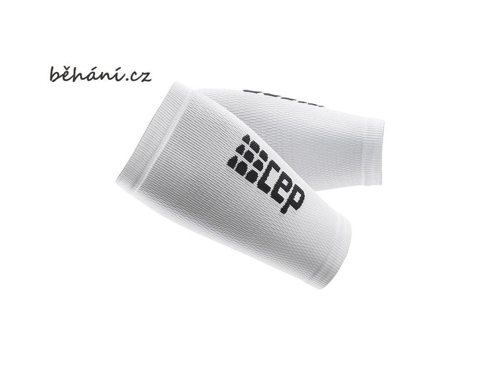 CEP unisexové kompresní návleky na předloktí - bílá / černá