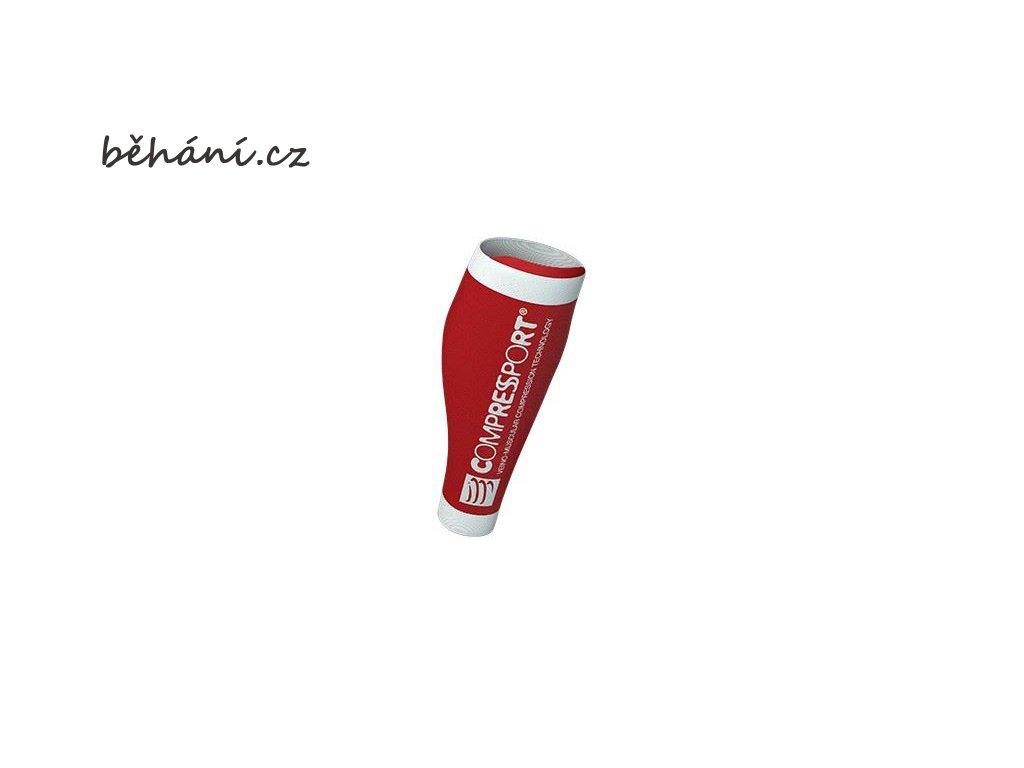 Kompresní lýtkové návleky Compressport R2 V2 - červené (Velikost 42-46 cm obvod lýtka)