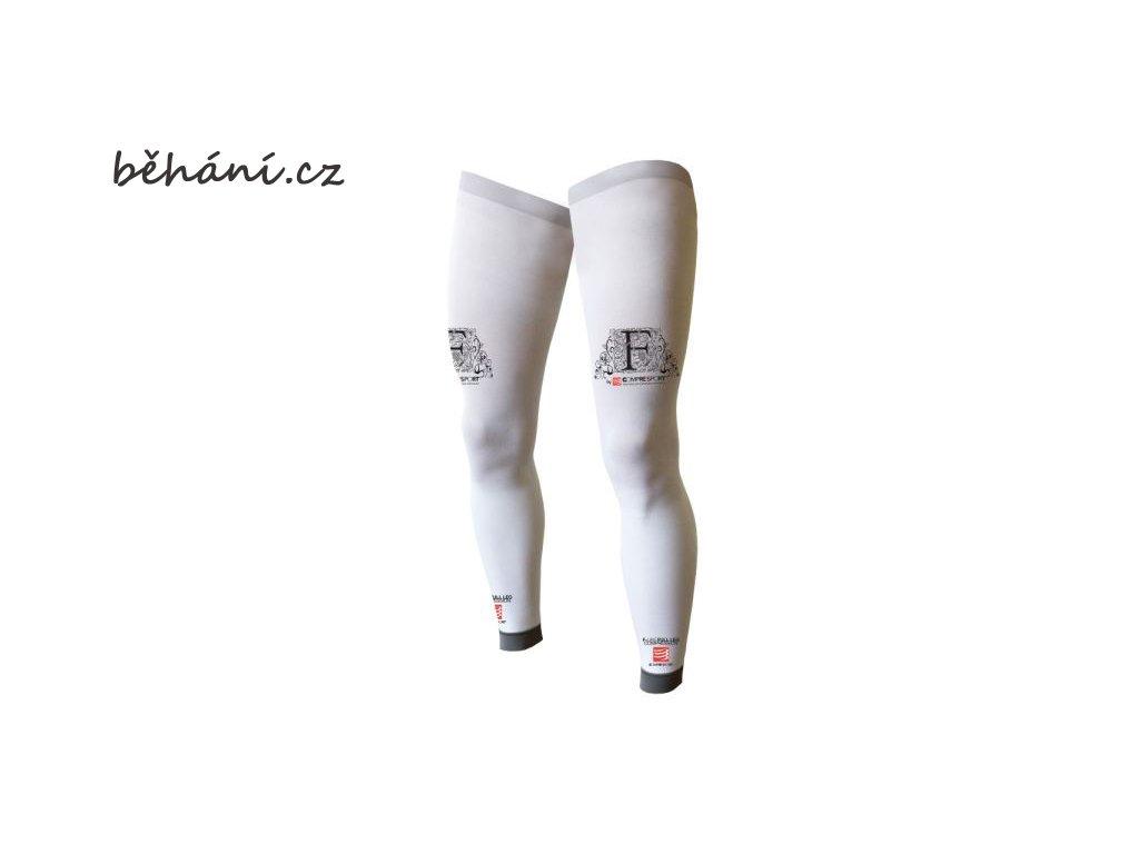 d8753fc8655 Kompresní návleky na nohy Compressport FULL LEGS - bílé - běhání.cz