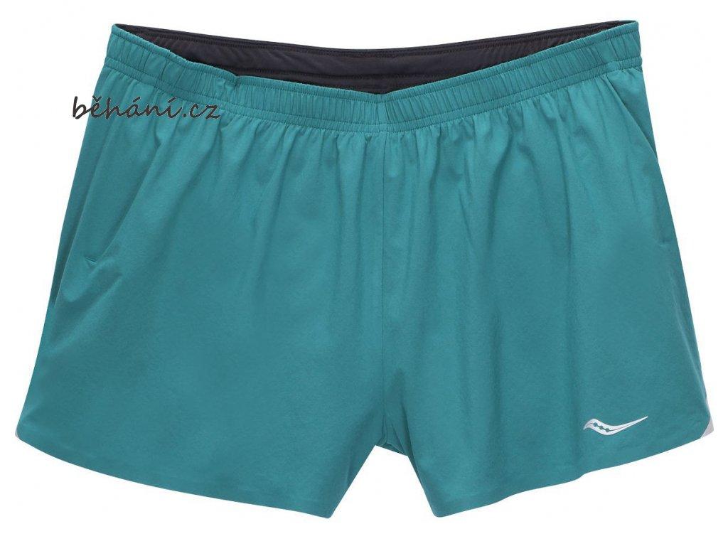 Běžecké šortky Saucony Endorphin Split (Velikost textilu XXL)