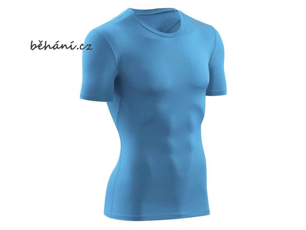 CEP wingtech shirt shortsleeve electricbluegreen W66DN5 m front