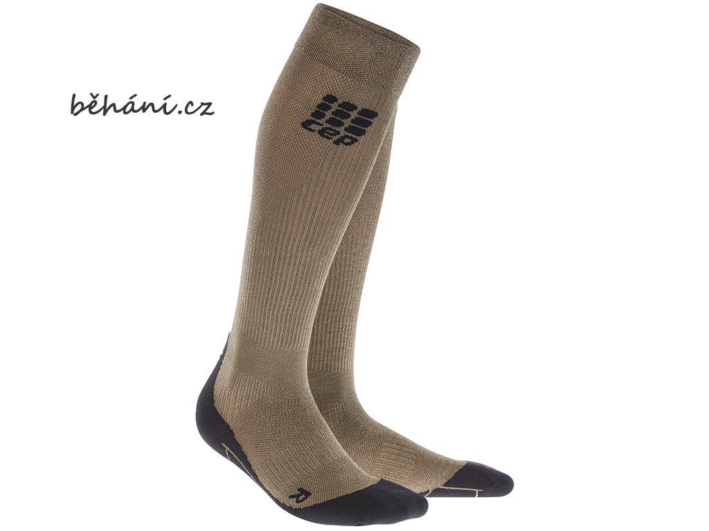 CEP metallic socks gold 672 WP5439