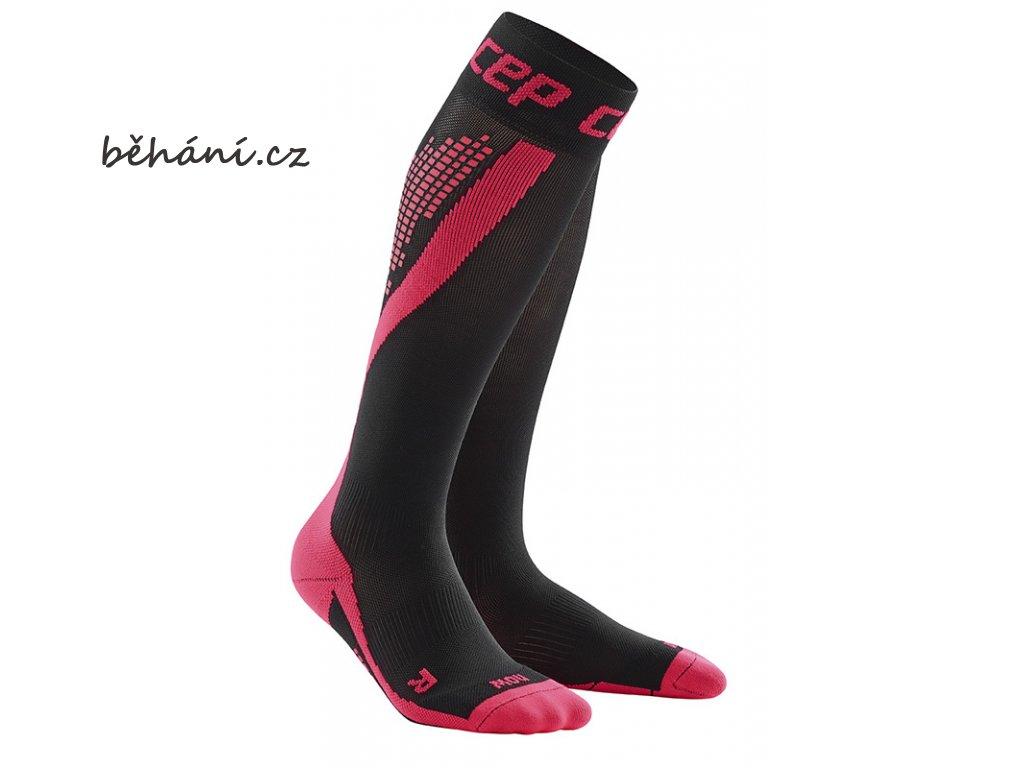 CEP nighttech socks pink WP5L43 m WP4L43 w pair 72dpi