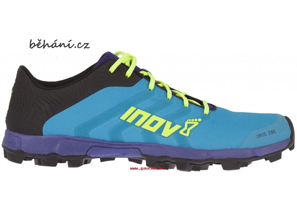 Nejvyšší kvalita Inov8 Oroc 280 000645BLPLYWP01 modrá pánská běžecká obuv