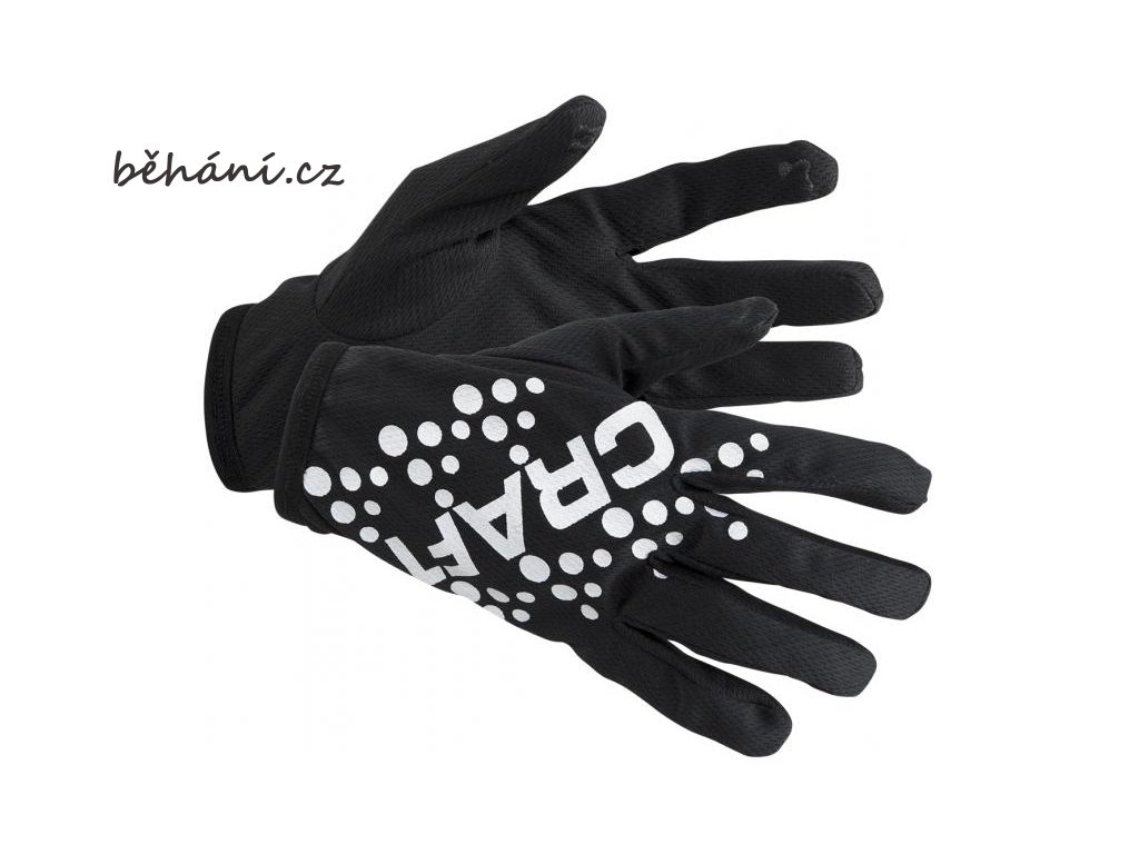 Běžecké rukavice Craft Printed Jersey