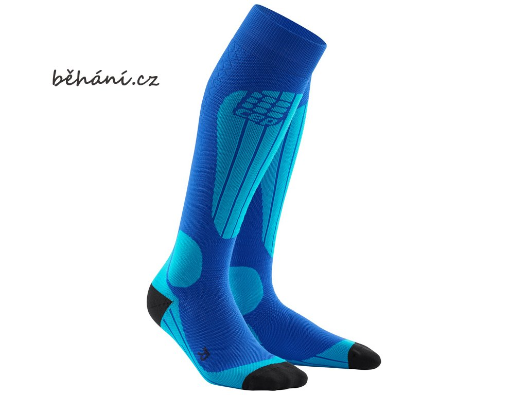 CEP ski thermo socks blueazur WP5312 m WP4312 w pair