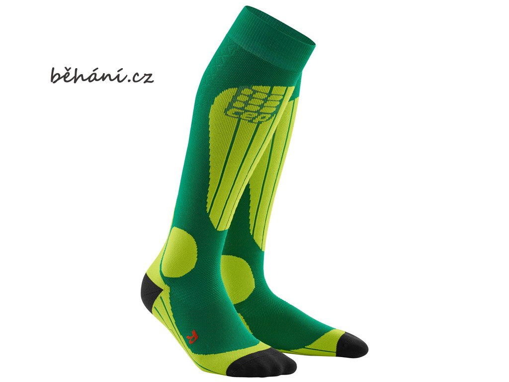 CEP ski thermo socks forestlightgreen WP53J2 m WP43J2 w pair