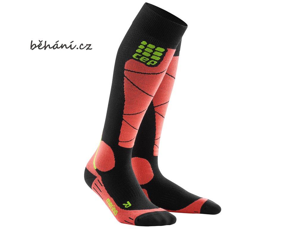 CEP ski merino socks blackcoral WP50HB m WP40HB w pair