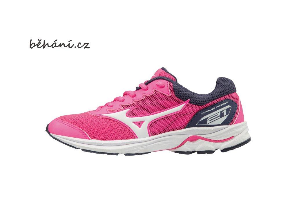 Běžecké boty Mizuno Wave Rider 21 JR K1GC182502 - běhání.cz 6d17c6d6960