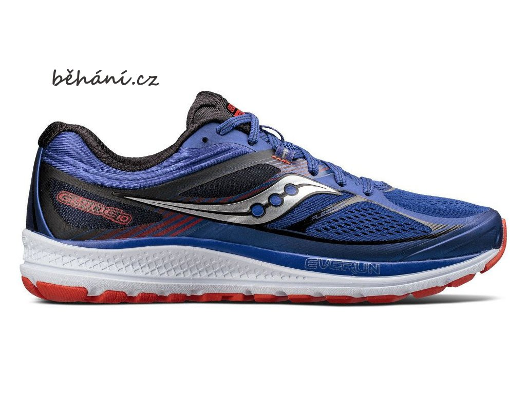 saucony guide 10 blue orange