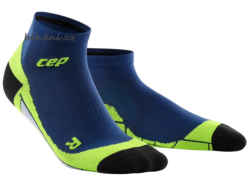 CEP low Cut Socks deep ocean green WP4AA0 w WP5AA0 m pair