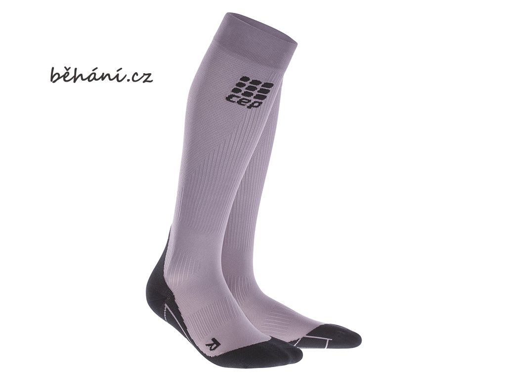 CEP Compression Socks plank purple WP40ZK w pair
