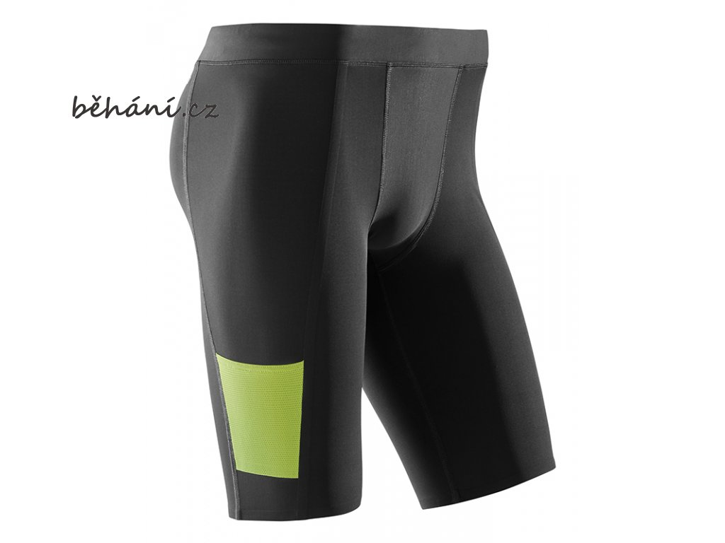 CEP Performance Shorts black lime W781UC m front