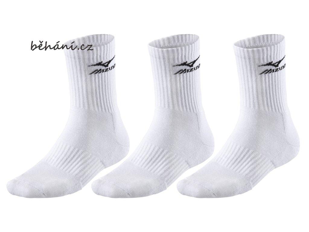Volejbalové ponožky Mizuno Training 3P Socks 32GX6A54Z01 - tři páry