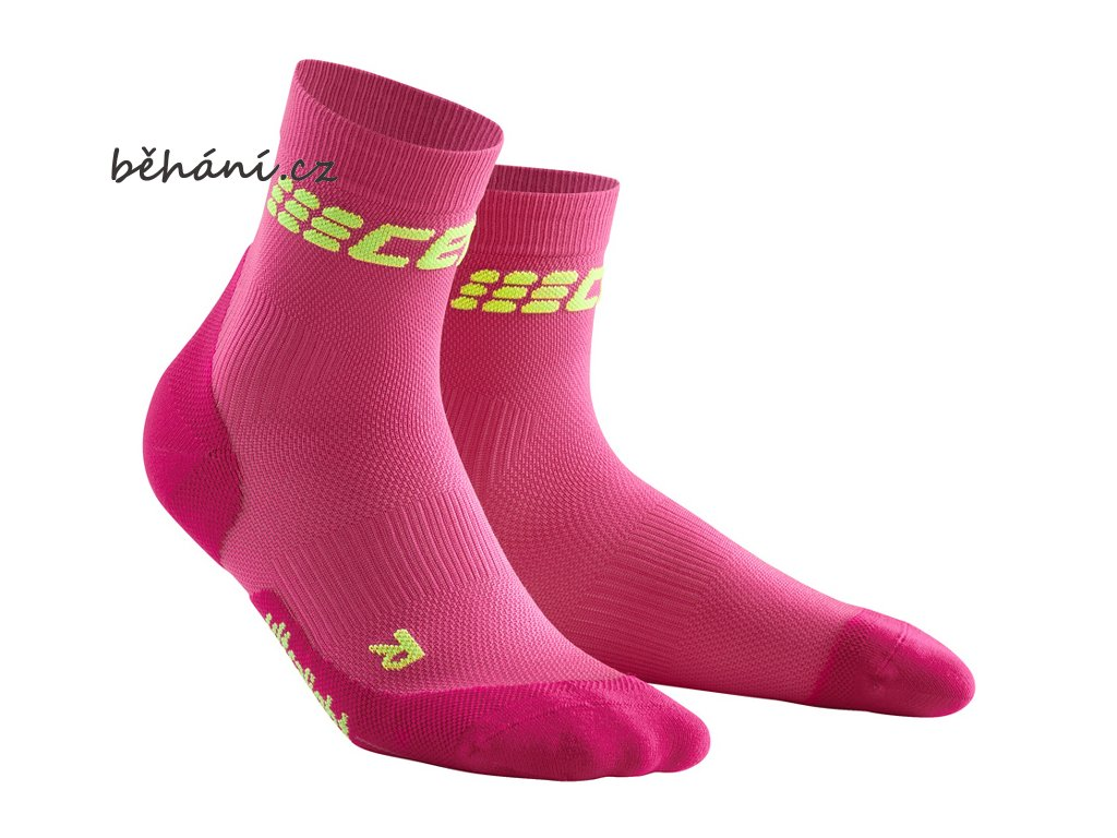 Ultralight Short Socks electric pink WP4BPD w pair