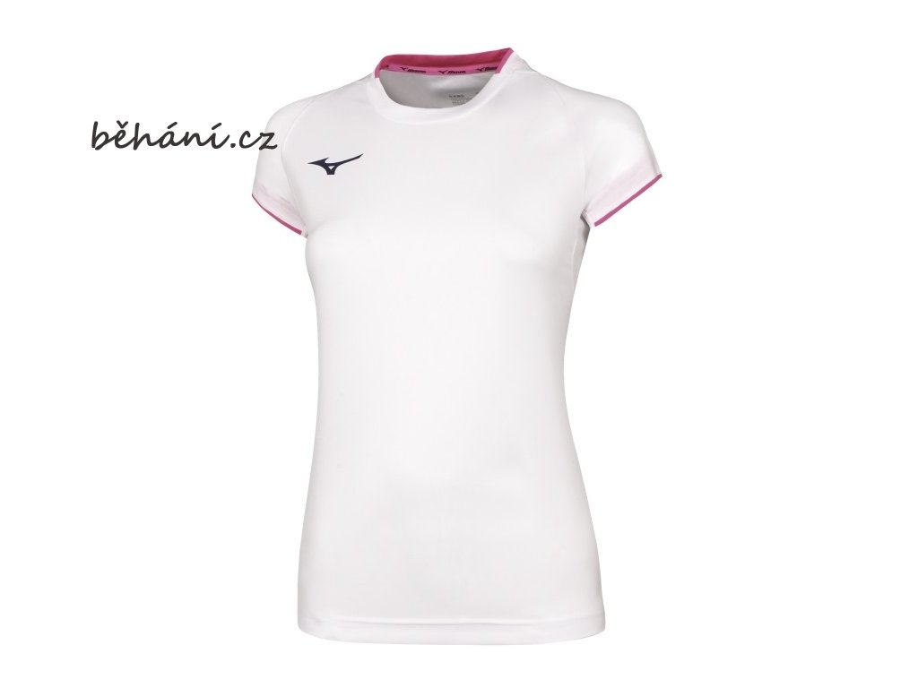 vyr 5088core short sleeve tee white pink fluo