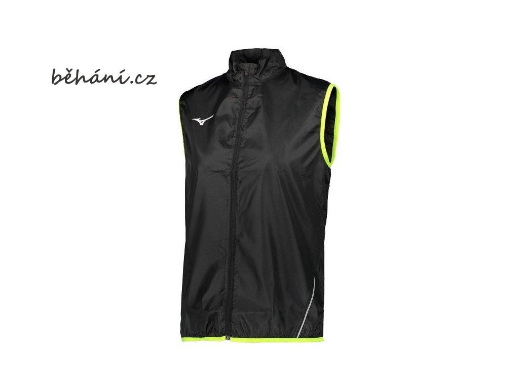 83931 vesta mizuno authentic rain vest black