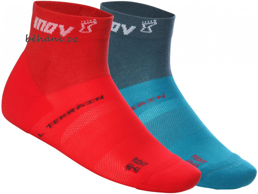 ALL TERRAIN SOCKRED BLUE GREEN 1