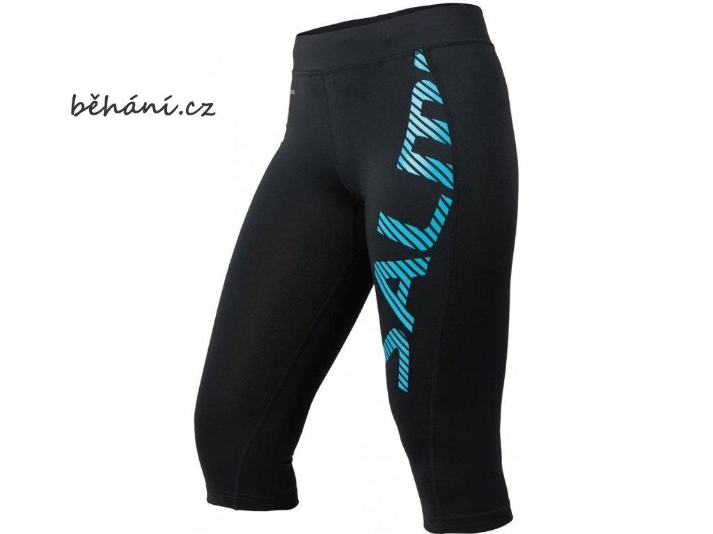 Běžecké kalhoty SALMING Capri Logo Tights Women