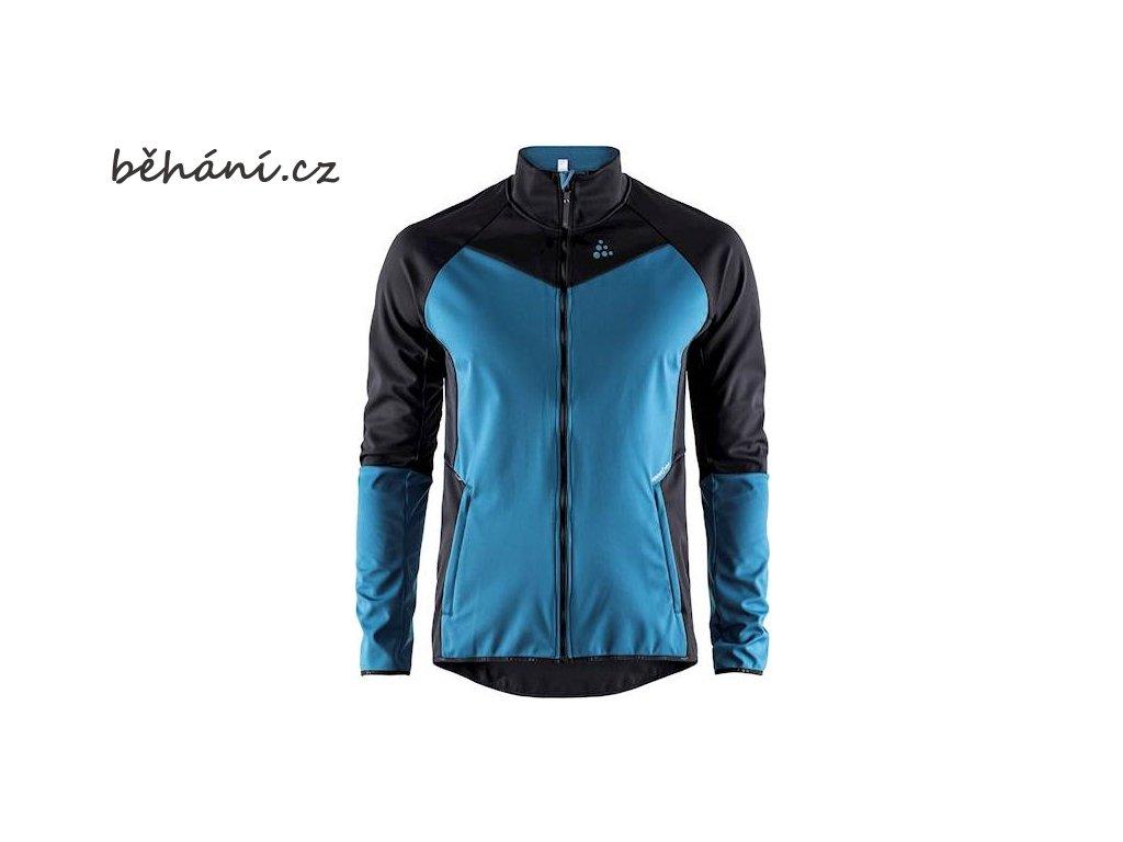 Běžecká bunda CRAFT Glide - černá / modrá