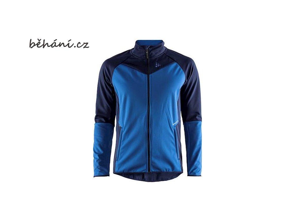 Běžecká bunda CRAFT Glide - modrá